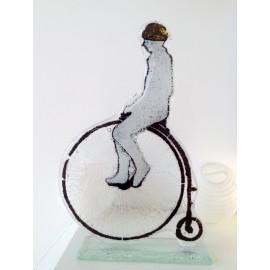 Bicykl-szkło