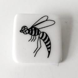 Broszka porcelana