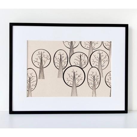 Plakat- Drzewa