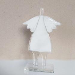 Anioł stojący- szkło
