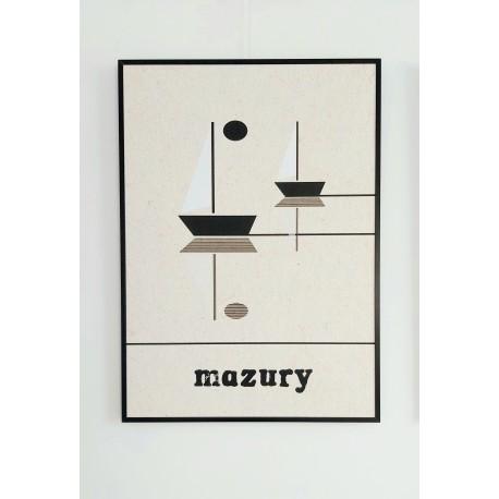 """Plakat """"Mazury"""""""